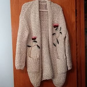 NWOT Francescas oversized sweater